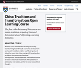 China: Traditions and Transformations