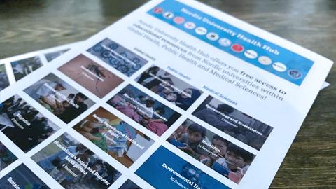 Press materials for download: Nordic University Health Hub