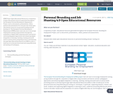 Personal Branding and Job Hunting 4.0 Open Educational Resources