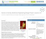 Biodomes Engineering Design Project: Lessons 2-6