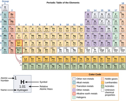 Biology the periodic table of elements the periodic table of the periodic table of elements urtaz Images