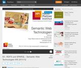 Semantic Web Technologien – RDFS und SPARQL