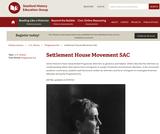 Reading Like a Historian: Progressive Social Reformers SAC