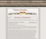 The Declaration of Independence: A Transcription