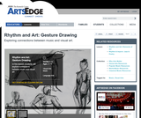 Rhythm and Art: Gesture Drawing