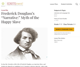 "Frederick Douglass's ""Narrative:"" Myth of the Happy Slave"