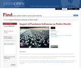 Impact of Pandemic Influenza on Public Health