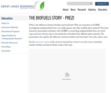 The Biofuels Story