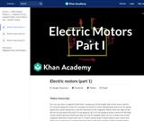Electric motors (part 1)