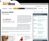 ArtsEdge Student Portal: Maximum India