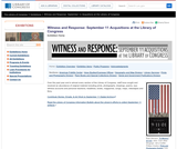 Witness and Response: September 11 Acquisitions