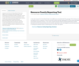 Resource Family Reporting Tool
