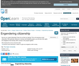 Engendering Citizenship