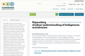 Expanding student understanding of Indigenous worldviews