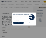 Glocalization: Writing Feature Stories on Family Migration