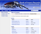 The University of Florida Book of Insect Records
