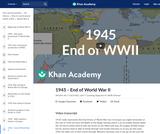 1945 - End of World War II
