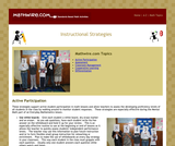 Instructional Strategies for Mental Math
