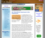 6e. Free African Americans in the Colonial Era