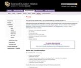 SEI: Upper-Division Electrodynamics (E&M 2) Course Materials