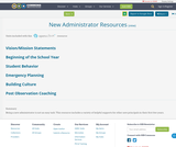 New Administrator Resources
