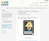 AR SPELL: Teaching Vocabulary and Language Skills