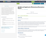 Job Ads and Applicants: Elementary Discussion - Remix