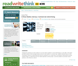 Critical Media Literacy: Commercial Advertising
