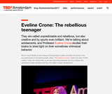 Eveline Crone: The rebellious teenager