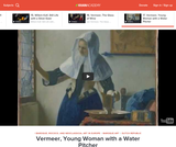 Baroque Art in Holland Vermeer's Young Woman with a Water Pitcher