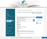 Web Technologies and Application Development (Open Course) (KSU)