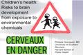 Children's health - Risks to brain development from exposure to environmental chemicals