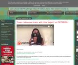 Learn Lebanese Arabic through English (Blog)