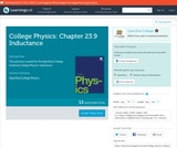 College Physics: Chapter 23.9 Inductance (Quiz)