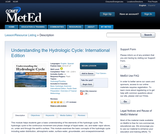 Understanding the Hydrologic Cycle: International Edition