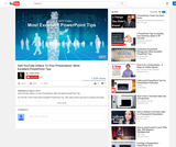 Add YouTube Videos To Your Presentation: Most Excellent PowerPoint Tips