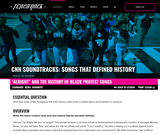 """Soundtracks: Songs That Defined History, Lesson 1. """"Alright"""" and the History of Black Protest Songs"""