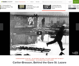 Cartier-Bresson's Behind the Gare St. Lazare