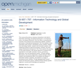 Information Technology and Global Development