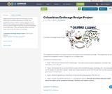 Columbian Exchange Recipe Project