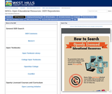 WHCL Open Educational Resources