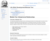 Module Two: Interpersonal Relationships