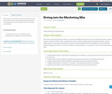Diving into the Marketing Mix