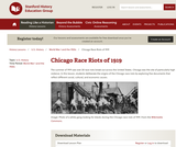 Reading Like a Historian: Chicago Race Riots of 1919