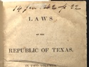 Constitution of the Republic of Texas (1836)