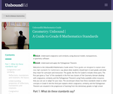 Geometry: Unbound | A Guide to Grade 8 Mathematics Standards