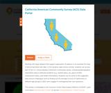 California American Community Survey (ACS) Data Portal