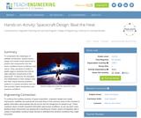 Spacecraft Design: Beat the Heat