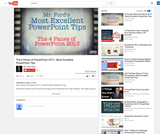 The 4 Panes of PowerPoint 2013 - Most Excellent PowerPoint Tips