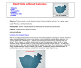 Centroids without Calculus